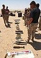 US Navy 020712-N-5471P-001 EOD teams conduct Joint-Mulitnational training in the Kuwaiti desert.jpg