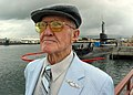US Navy 040120-N-0879R-001 Pearl Harbor survivor Bill Johnson, returned to Pearl Harbor 64 years after the attack.jpg