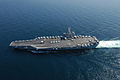US Navy 070217-N-0490C-001 The Nimitz-class aircraft carrier USS Dwight D. Eisenhower (CVN 69) transit the Arabian Sea.jpg