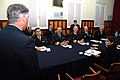 US Navy 070502-N-4021H-095 Representatives from UNITAS 48-07 Atlantic Phase partner nations including Spain, Argentina, Chile, Brazil and the United States gather to discuss the beginning of the exercise with local press repres.jpg
