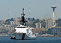 US Navy 090728-N-9860Y-001 The U.S. Coast Guard cutter USCGC Bertholf (WMSL 750), based in Alameda, Calif., maneuvers through Elliot Bay to the Port of Seattle to participate in the 60th annual Seattle Seafair.jpg