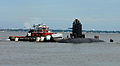 US Navy 100511-N-7705S-015 S Perle (S606) approaches Naval Station Norfolk from the Elizabeth River.jpg