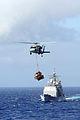 US Navy 100721-N-3659B-275 USS Chancellorsville (CG 62) transits the Pacific Ocean.jpg