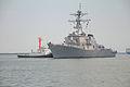 US Navy 100723-N-3283P-008 USS Russell (DDG 59) approaches Takamatsu Pier in Sendai, Japan.jpg