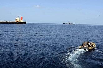 Carrier Strike Group 12 - MV Guanabara (6 March 2011)