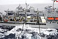 US Navy 110617-N-NG906-023 The Military Sealift Command fleet replenishment oiler USNS John Ericsson (T-AO 194) conducts a replenishment at sea wit.jpg