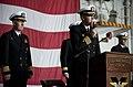 US Navy 111202-N-DR144-488 Capt. Kent D. Whalen, the commanding officer of the Nimitz-class aircraft carrier USS Carl Vinson (CVN 70), addresses th.jpg