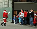 US Navy 111203-N-UD469-177 Santa Clause greets Sailors and their families during the Helicopter Anti-Submarine Squadron (HS) 10 and Helicopter Sea.jpg