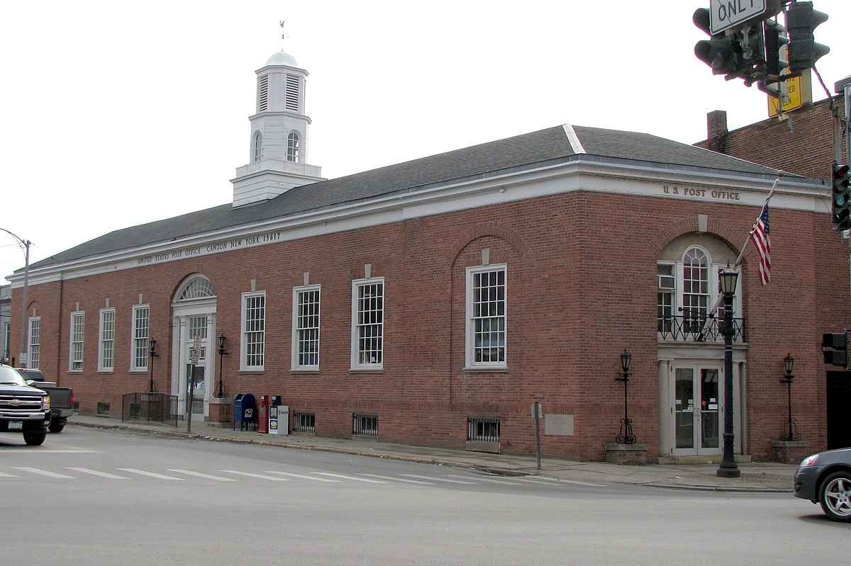 United States Post Office (Canton, New York) - Wikipedia