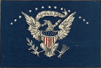 Flag of the President of the United States - Image: US Presidential Flag Navy 1882