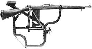 Periscope rifle - Image: US WWI rifle periscope attachment