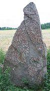 U 861 Norsta-runestenen uden for Uppsala nævner en Sven som formodes at være Blot-Sven