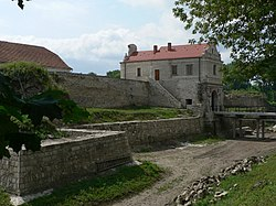 Zbarazh Castle.