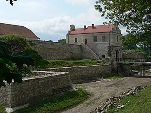 Zbarazh Castle - View on the castle in 2006