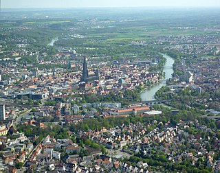 Ulm Place in Baden-Württemberg, Germany