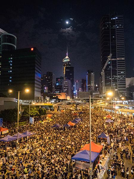Protesterna i Hong Kong 2014