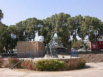 Operation Uvda - Historical model of the police station at Umm Rashrash