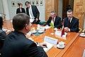 Ungārijas parlamenta priekšsēdētāja oficiālā vizīte Latvijā (8122298607).jpg