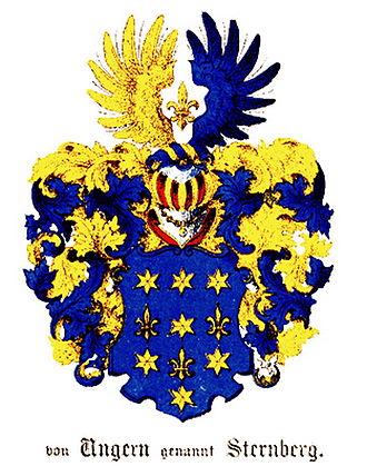 Ungern-Sternberg - Original arms of the Ungern-Sternberg family