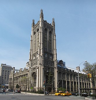 Union Theological Seminary (New York City) - Brown Memorial Tower