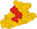 Unione dei comuni delle Valli Argentina e Armea-mappa.png