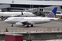 N834UA - A319 - United Airlines