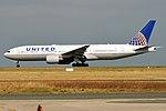 United Airlines, N798UA, Boeing 777-222 ER (44361811105).jpg