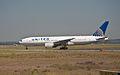 United Airlines Boeing 777–200 N771UA Fiumicino Airport.jpg