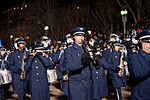 United States Air Force Band passes presidential reviewing stand 130121-Z-QU230-340.jpg