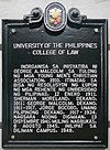 University of the Philippines College of Law historical marker.jpg