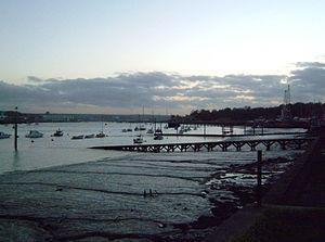 River Medway - Dusk at Lower Upnor on the Medway Estuary