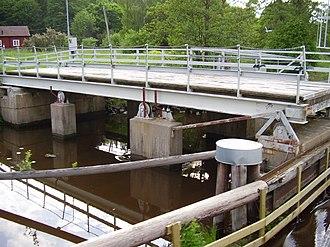 Retractable bridge - Image: Uppsala Ultunabron 02 2005 06 16