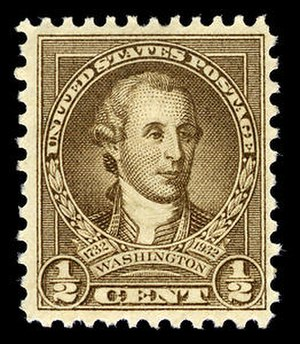 Washington Bicentennial stamps of 1932 - Image: Usps 704