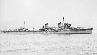 Japanese destroyer <i>Usugumo</i> (1927) Fubuki-class destroyer
