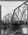 VIEW LOOKING NORTH TOWARD SOUTH WEB - Powder River Bridge, County Road 269, Leiter, Sheridan County, WY HAER WY0,17-LEIT.V,1-3.tif