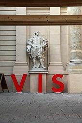 VIS - Vienna Independent Shorts 2014 Künstlerhaus Rubens-Statue 1.jpg