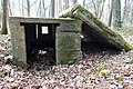 "VLADSLO Praetbos ( Praetwald) ""Lehr Infanterie Regiments"" -Betonstruktur-, Belgien, Provinz Westflandern 01.jpg"