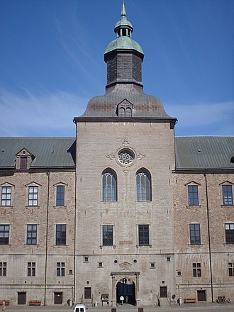 Vadstena Castle - Image: Vadstena slott mittornet