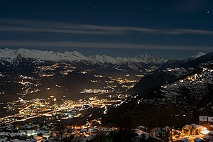 Nendaz - Image: Valais from Nendaz