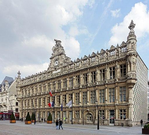 Valenciennes hotel de ville cote