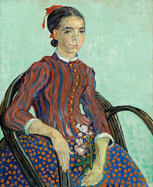 La Mousmé by Vincent van Gogh