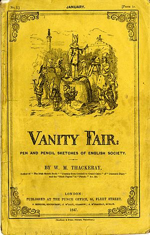Vanity Fair (novel) - Image: Vanity Fair 01 cover