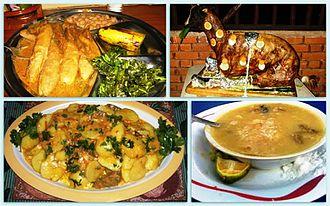 Chaga people - Various Chaga Dishes
