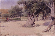 Vasilii Polenov - Olive Trees in the Holy Land - Google Art Project.jpg