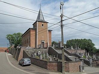 Heers - Image: Vechmaal Heers, de Sint Martinuskerk oeg 32200 foto 4 2012 07 01 16.51