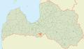 Vecsaules pagasts LocMap.png