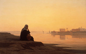 Auguste Veillon - 'The Nile at Philae'