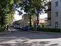 Veleslavín, José Martího, z ulice Za vokovickou vozovnou, vozovna Vokovice.jpg