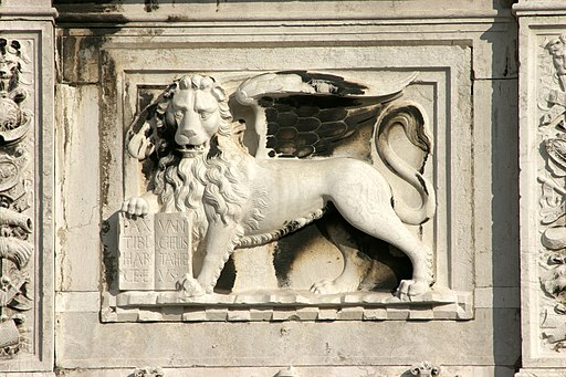 Venice - Winged lion 02