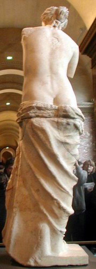 Venus de Milo - Back view